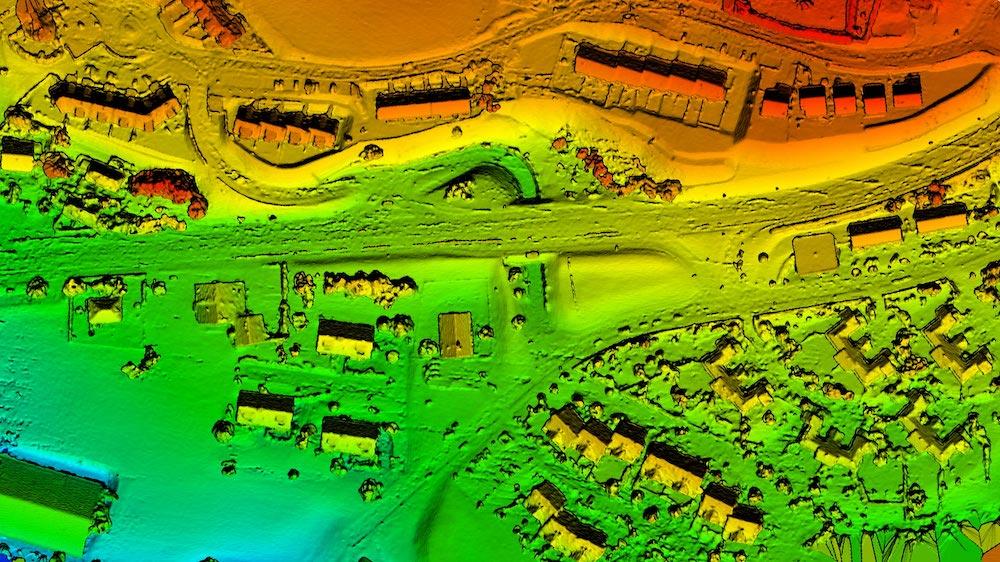Letecké snímkovanie, digitálny model povrchu