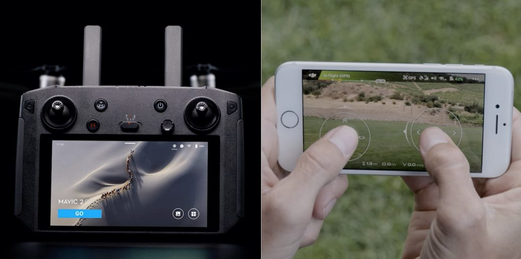ovladac na dron